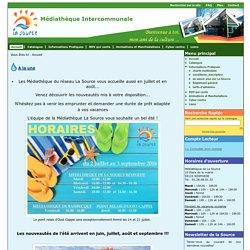 Médiathèque Intercommunale - La Source