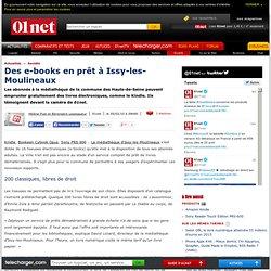 La médiathèque d'Issy-les-moulineaux prête des ebooks à ses lecteurs