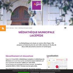 Médiathèque Municipale Lacépède - Présentation et horaires