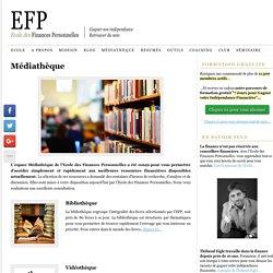 Médiathèque – Ecole des Finances Personnelles