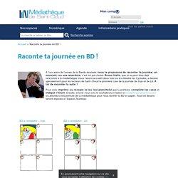 Raconte ta journée en BD ! avec Bruno Heitz - Médiathèque Saint Cloud -