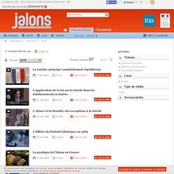 liste » - INA - Jalons