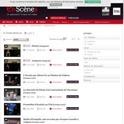 Médiathèque en visualisation « liste » - En scènes : le spectacle vivant en vidéo
