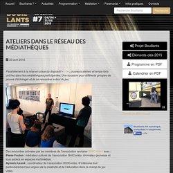 Ateliers dans le réseau des médiathèques