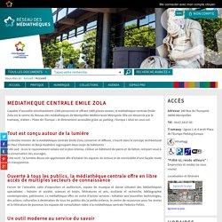 Médiathèques Montpellier Méditerranée Métropole - Médiathèque Emile Zola