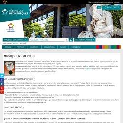 Médiathèques Montpellier Méditerranée Métropole - Musique numérique