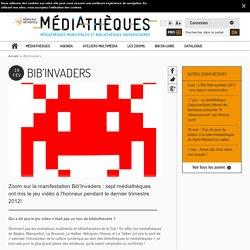 Bib'Invaders : le jeu vidéo à l'honneur