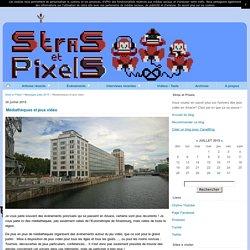 Médiathèques et jeux vidéo - Stras et Pixels