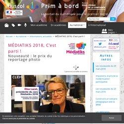 MÉDIATIKS 2018, C'est parti !