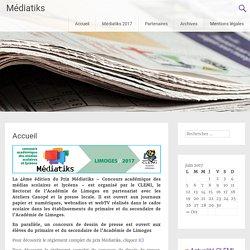 Médiatiks – Un site utilisant Réseau Education aux arts et à la Culture