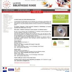 Petit Atelier : Médiation numérique - les tablettes tactiles / Emploi / Formation / La bibliothèque