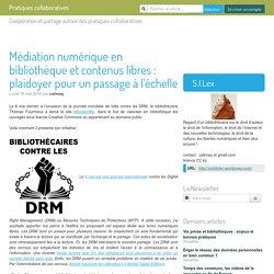 Médiation numérique en bibliothèque et contenus libres : plaidoyer pour un