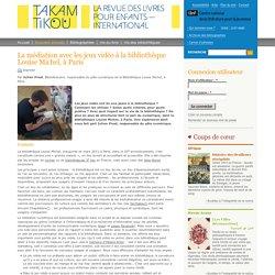 La médiation avec les jeux vidéo à la bibliothèque Louise Michel, à Paris