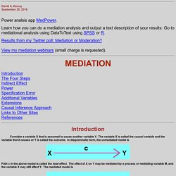 Mediation (David A. Kenny)
