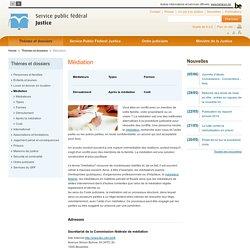 Médiation (Belgique)