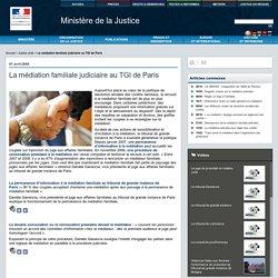 La m�diation familiale judiciaire au TGI de Paris