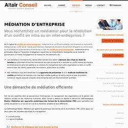 Médiation - Altaïr Conseil : des médiateurs pour résoudre des conflits