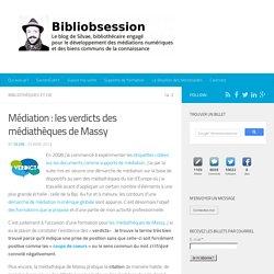 Médiation : les verdicts des médiathèques de Massy