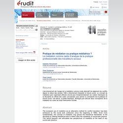 Nouvelles pratiques sociales v21 n2 2009, p.31-45