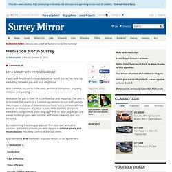 Mediation North Surrey