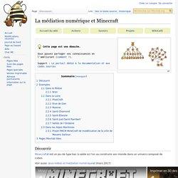 La médiation numérique et Minecraft — Movilab.org