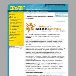 Assises de la médiation numérique - Participation à distance