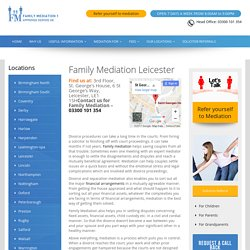 Divorce Mediation And Separation Leicester
