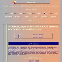 Médiations