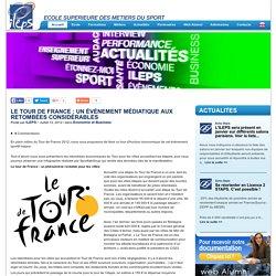Le Tour de France : un événement médiatique aux retombées considérables
