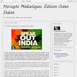 En Inde, les journalistes citoyens font le show