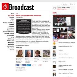 Oproep om tegen Mediawet te stemmen - Broadcast Magazine