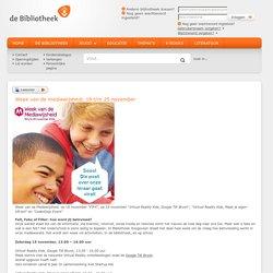 Week van de mediawijsheid. 18 t/m 25 november - Website van de Drentse bibliotheken