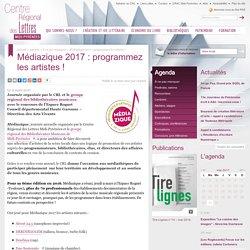 Médiazique 2017 : programmez les artistes !