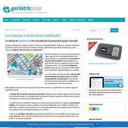 Los mayores y las tomas de medicación - Geriatricarea.com : Geriatricarea.com