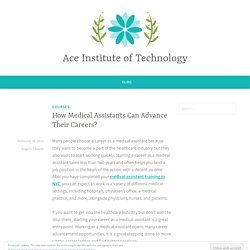 How Medical Assistants Can Advance Their Careers?
