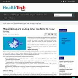 Medical Billing and Coding: What You Need To Know Today - Medical BillingMedical Billing