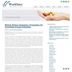 Medical Writing Companies - Medical Manuscript Writing Service