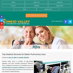 Top Medical Devices for Better Pulmonary Care
