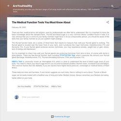 FT3-FT4-TSH Test