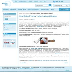 How Medical 'Honey' Helps In Wound Healing / Latest News & Updates