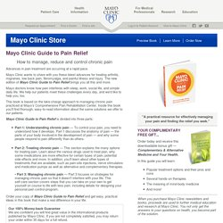 Mayo Clinic medical information and tools for healthy living - MayoClinic.com