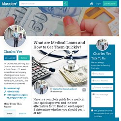 What are Medical Loans and How to Get Them Quickly?