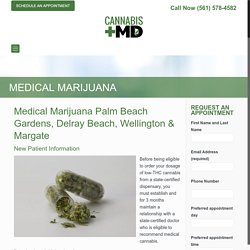 Medical Marijuana Palm Beach Gardens
