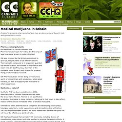 Medical marijuana in Britain