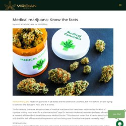 Medical Marijuana: Know The Facts