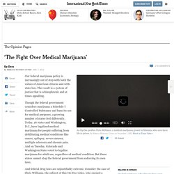 'The Fight Over Medical Marijuana'
