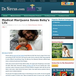 Medical Marijuana Saves Baby's Life