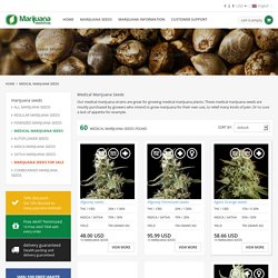 Buy Medical Marijuana Seeds online - Marijuana Seed Shop