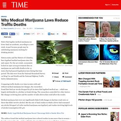 Why Medical Marijuana Laws Reduce Traffic Deaths