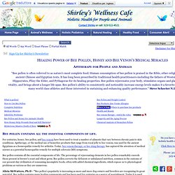 Bee Pollen & Honey's Medical Miracles in People & Animals